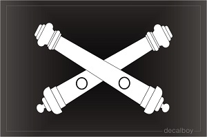 Cross Cannons Cliparts 9.
