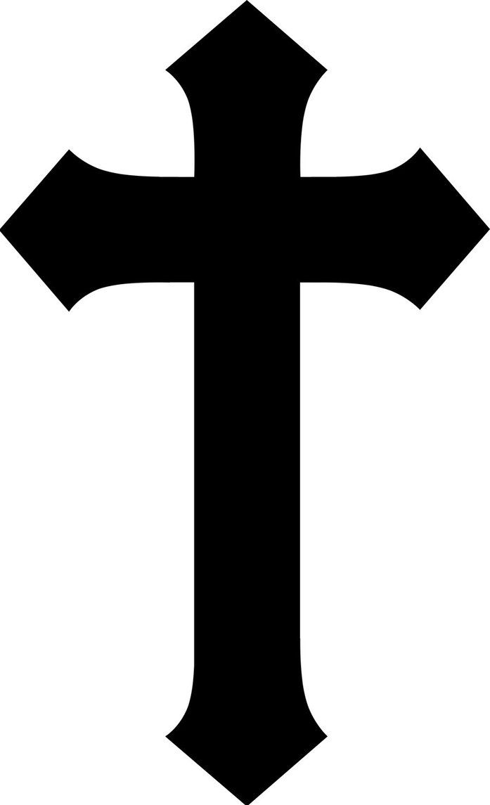 Cross Clip Art With Transparent Background.