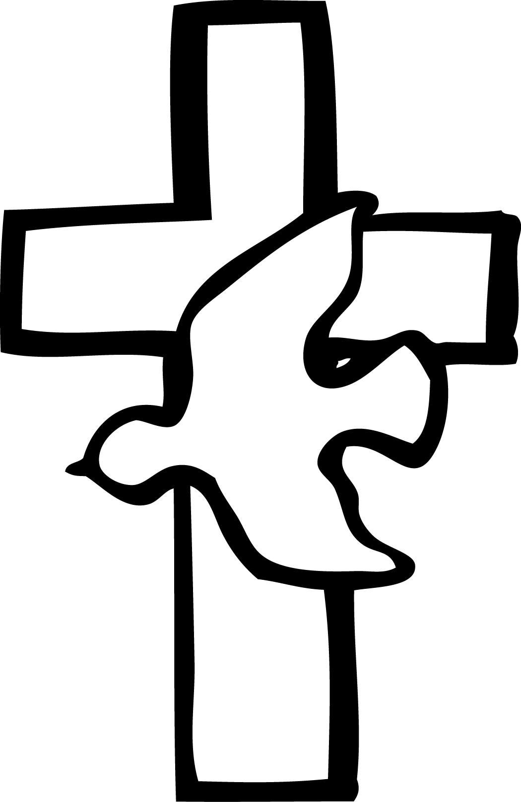 Cross clipart black and white png 4 » Clipart Station.