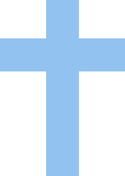 Blue Cross PNG, SVG Clip art for Web.