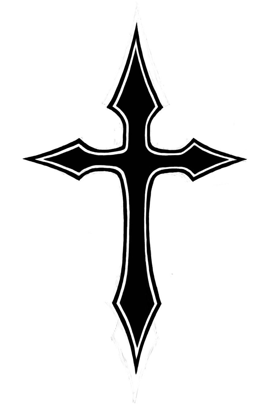 Pin on regular crosses.