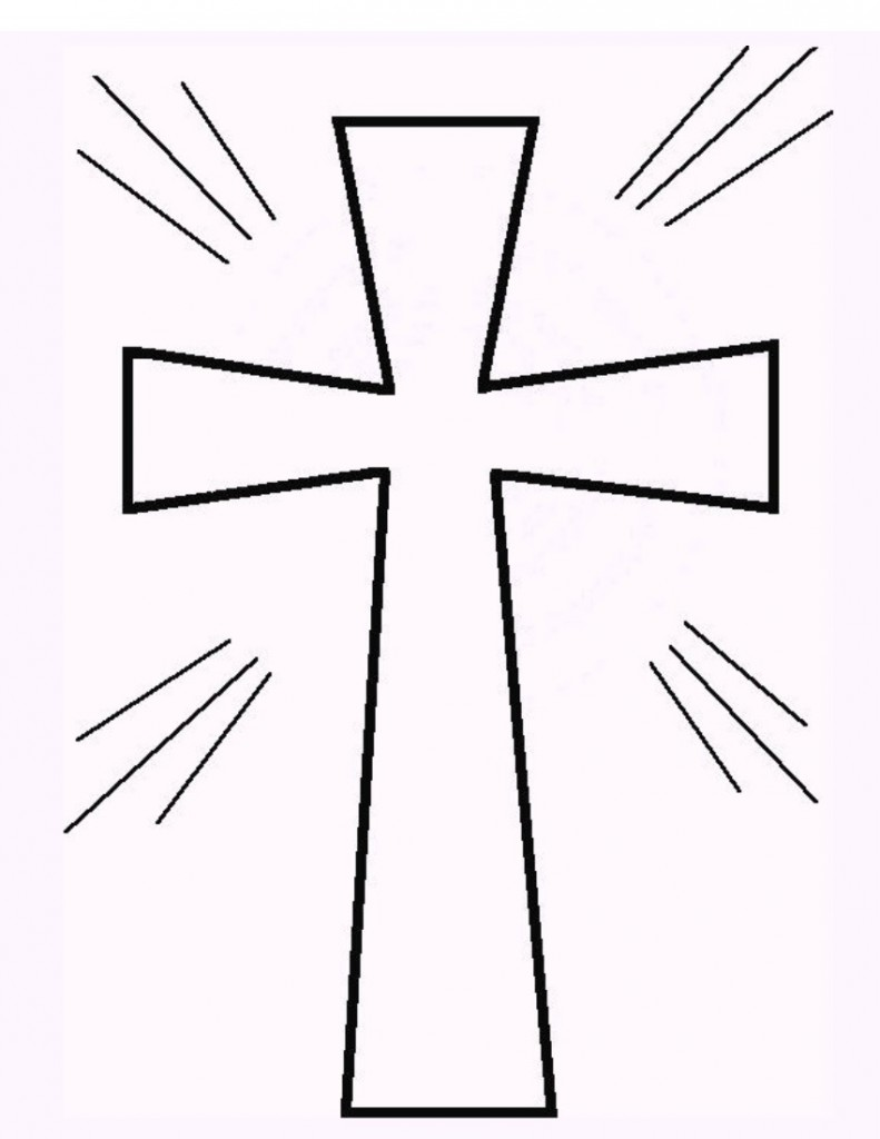 Cross Outline With Clipart Cross Clip Art Images : Cross Outline.