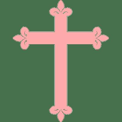 Simple Christian Cross Clipart transparent PNG.