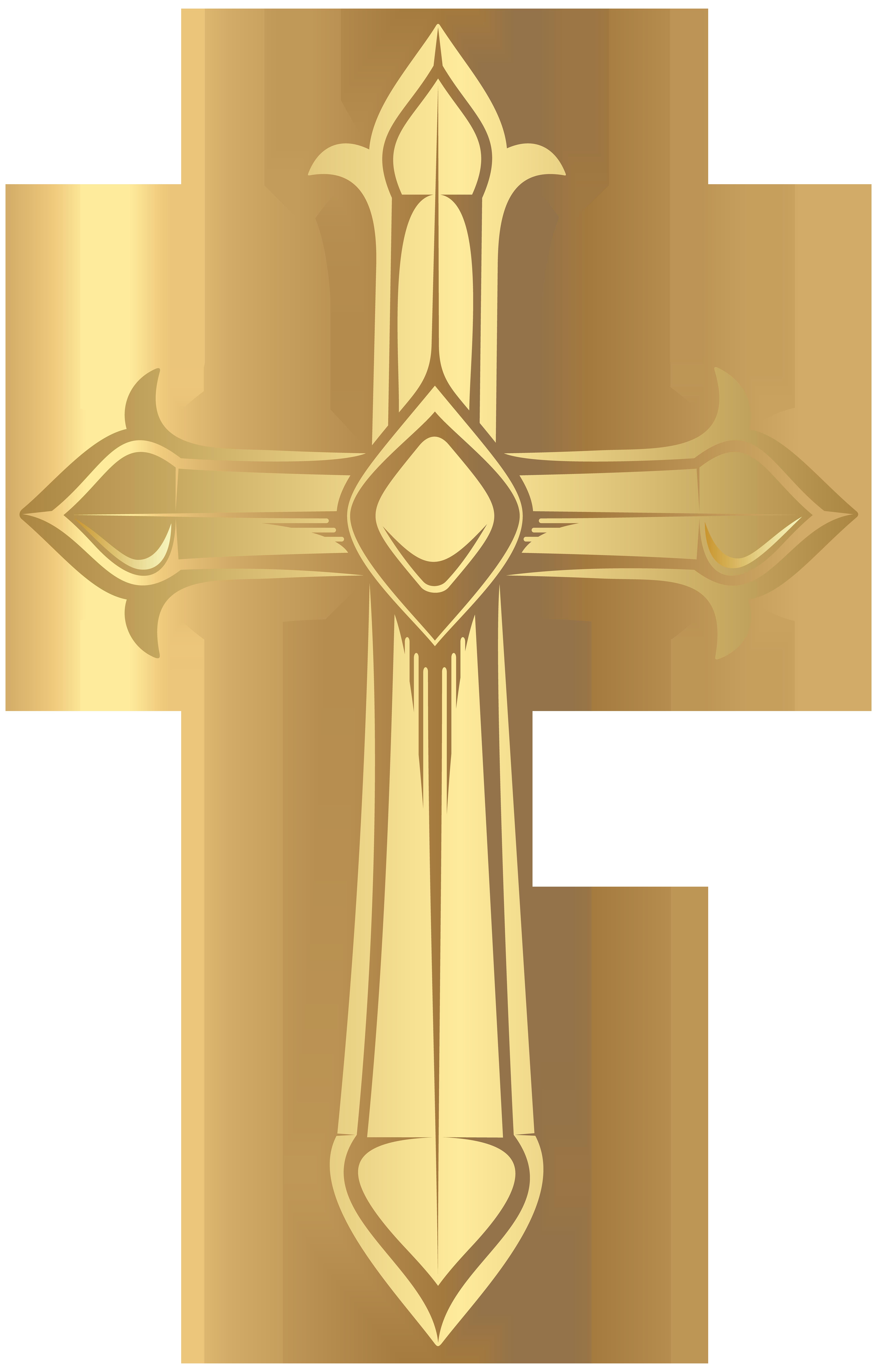 Cross Transparent PNG Clip Art Image.