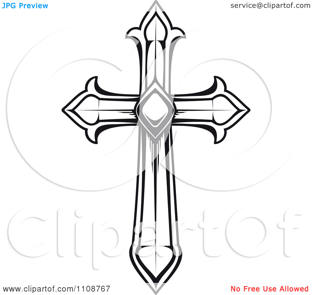 Free Vector Cross Clipart.