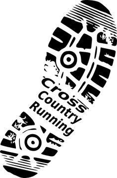 cross country running clip art.