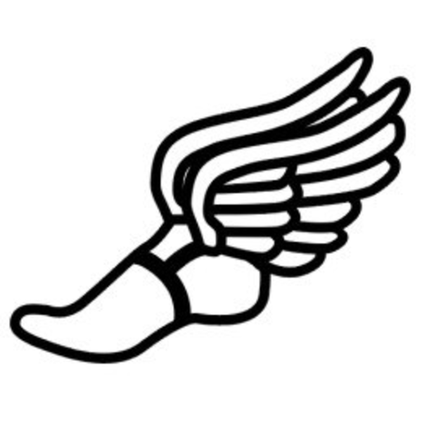 Cross Country Running Clipart.