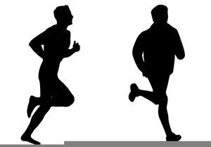 Cross Country Runners Clipart.