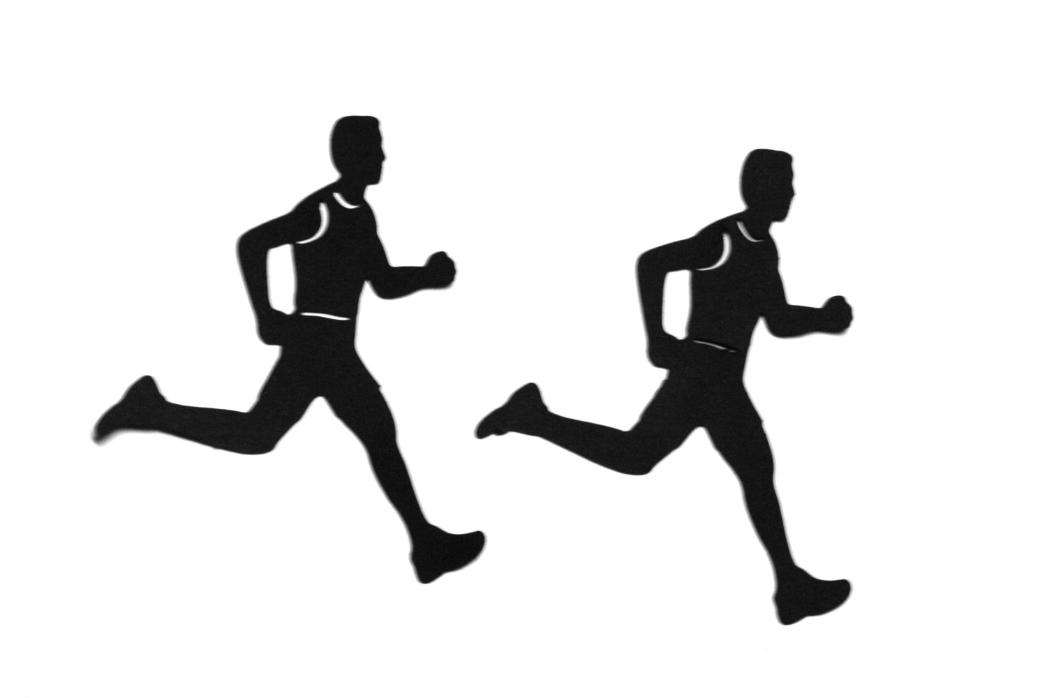 Free Cross Country Runner Silhouette, Download Free Clip Art.