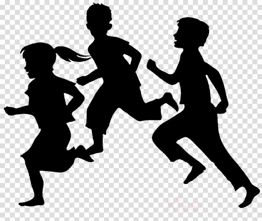 People Running clipart.