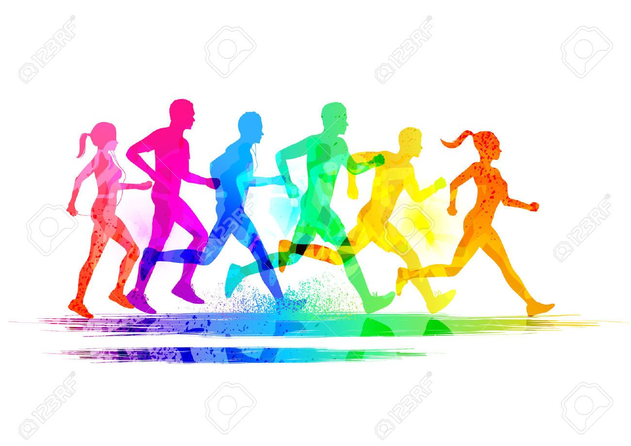 Runners Group Stock Photos Images, Royalty Free Runners.