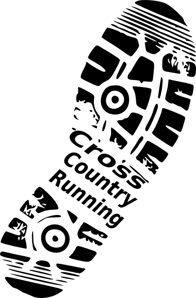 Cross Country Running Clip Art.