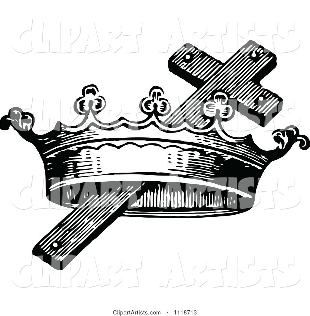 Cross and crown clipart 1 » Clipart Station.
