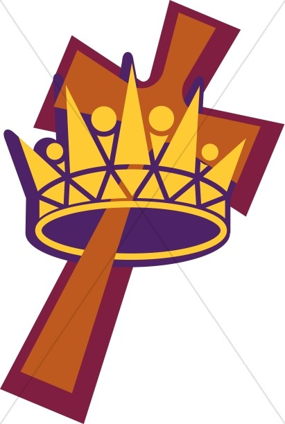Crown and Cross Graphic.