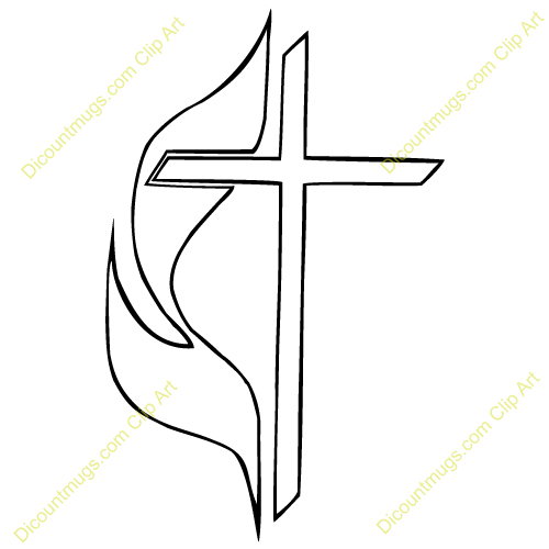 Cross and flame clipart united methodist 3 » Clipart Portal.