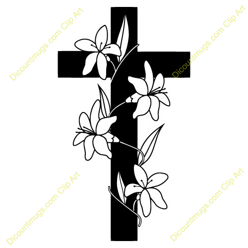 Cross flower clipart 4 » Clipart Station.