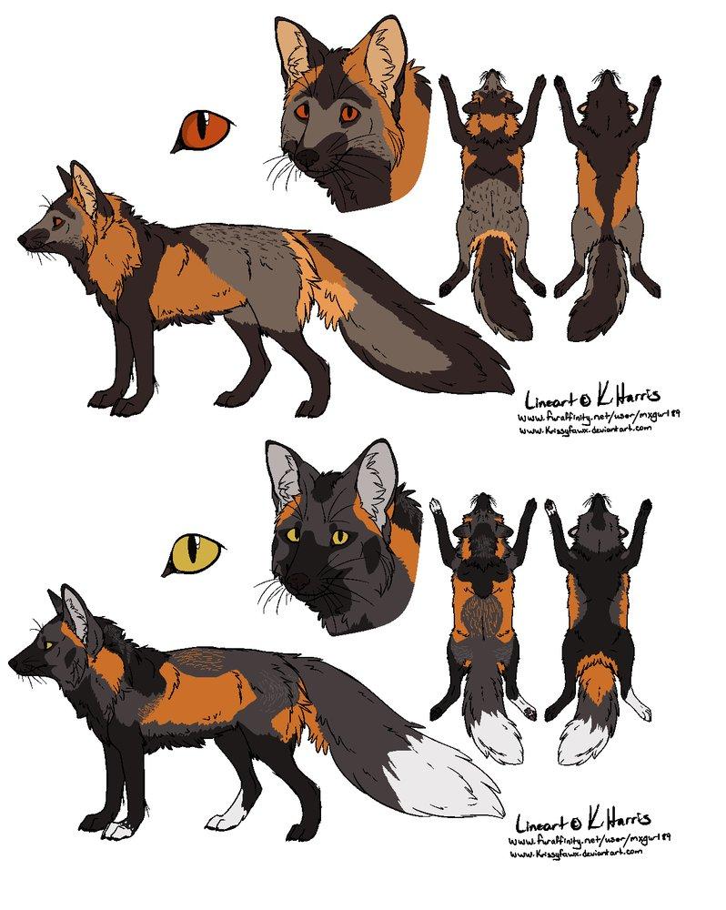 Cross Fox Designs by Sinful.