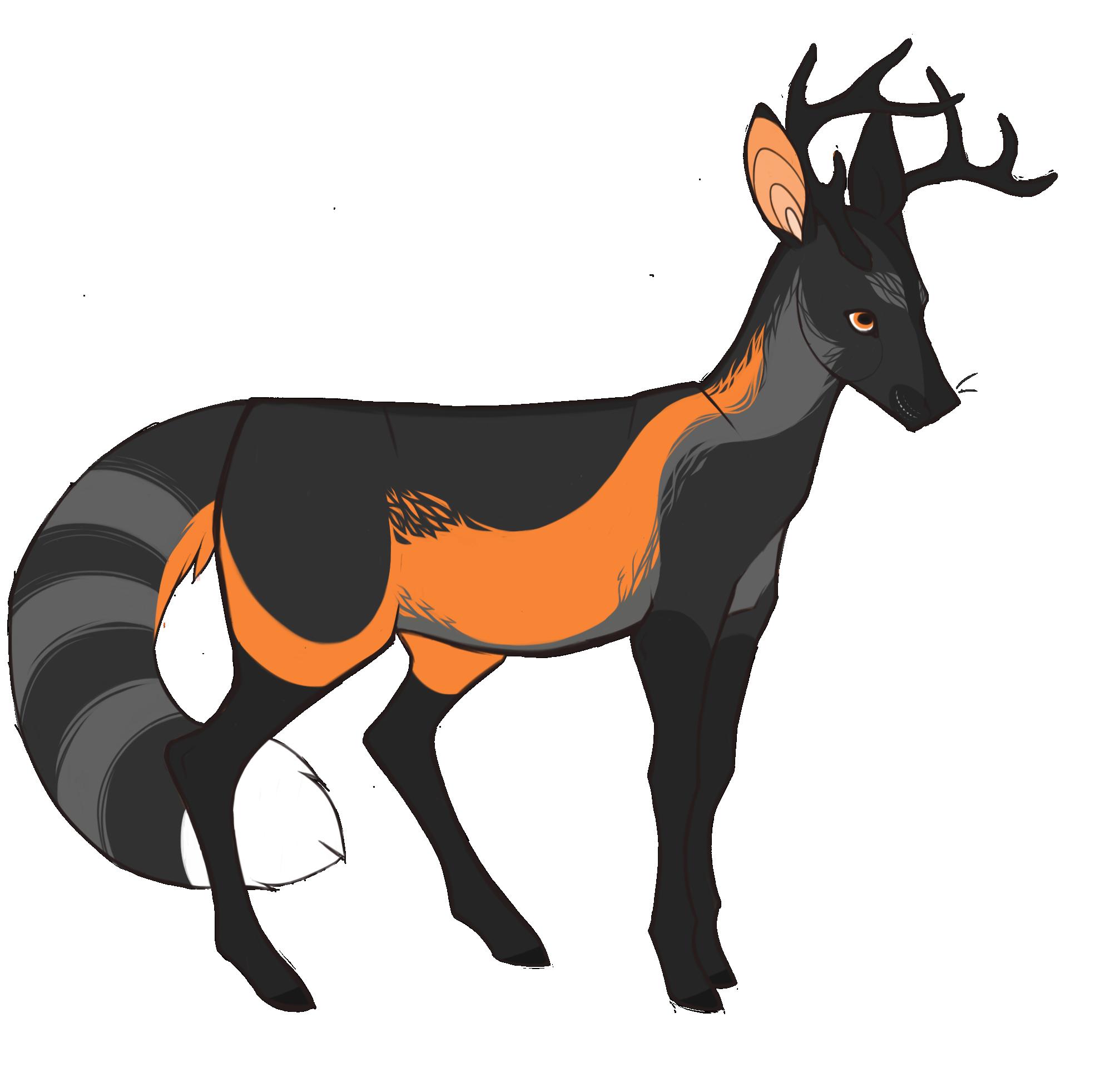 Cross Fox Deer — Weasyl.