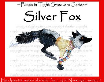 Cross fox clip art Red fox clipart Fox clip art Fox by SkyGlory.