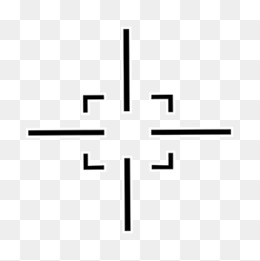 Crosshair PNG Images.