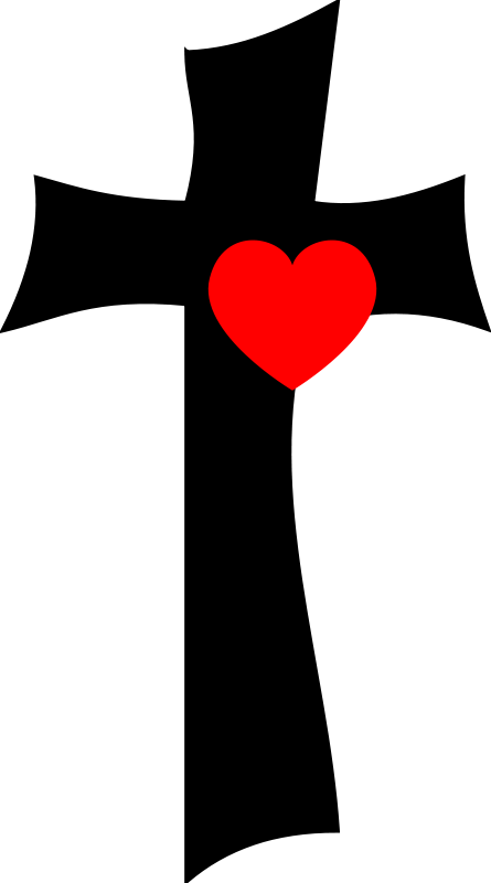 Free Clipart: From the cross with love.