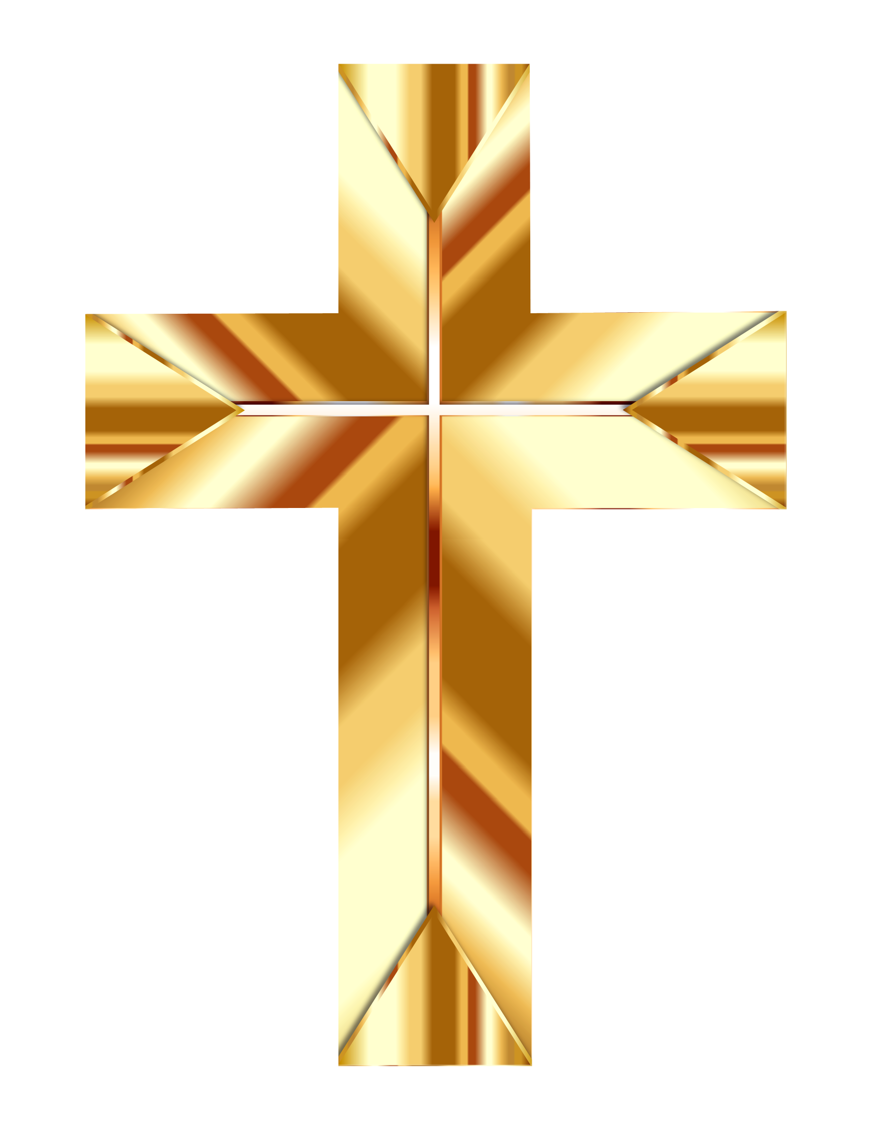 Christian Cross PNG Image.