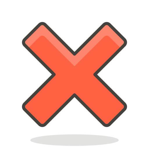 Cross, mark Icon Free of 780 Free Vector Emoji.