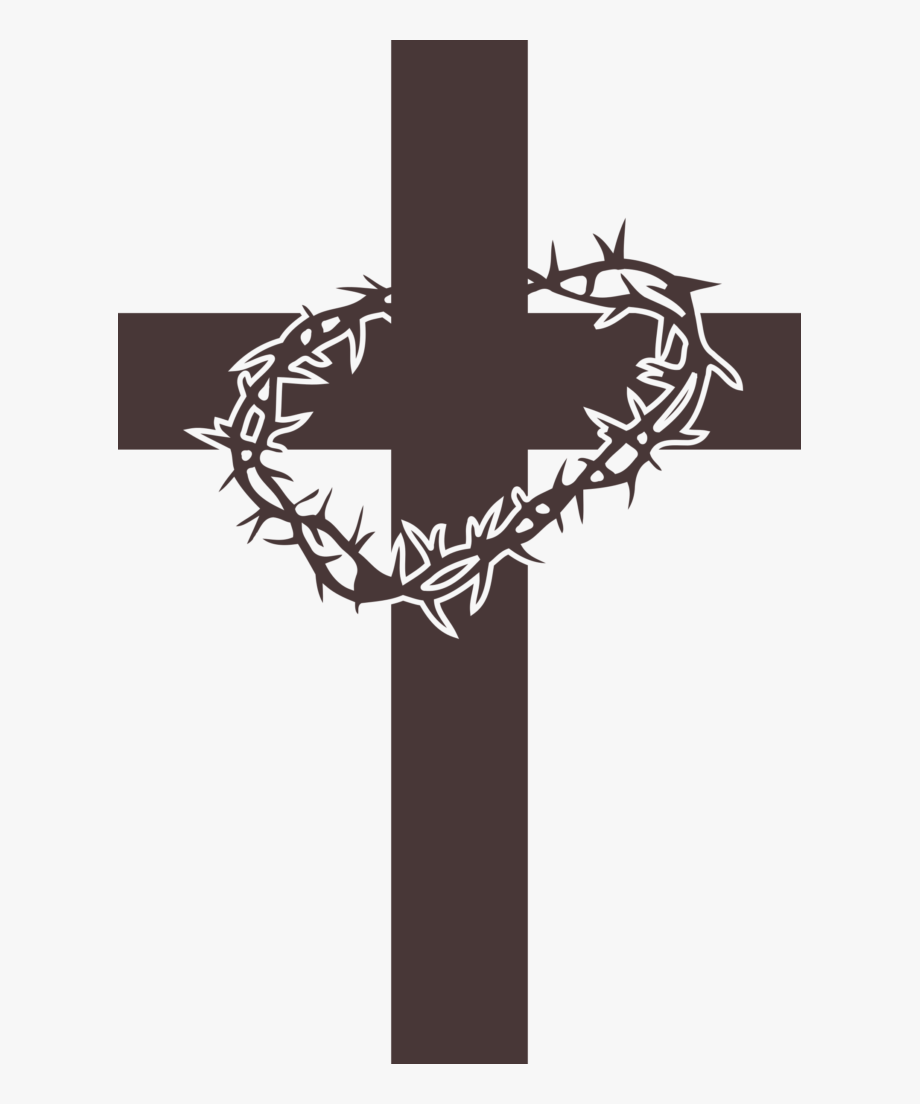 Jesus Cross With Thorns, Cliparts & Cartoons.