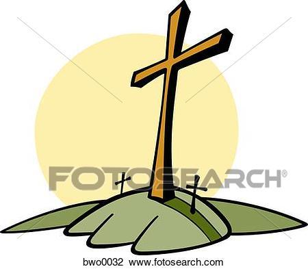 Cross on a hill clipart 3 » Clipart Portal.