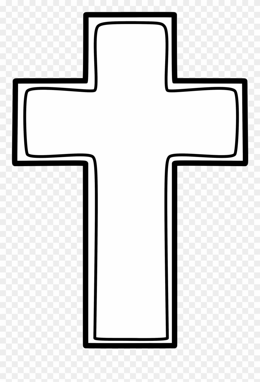 3 Crosses On A Hill Clipart.