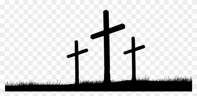 Good Of Friday Cross Christianity Crosses Hill Clipart.