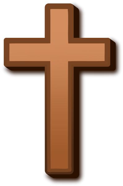 brown cross.