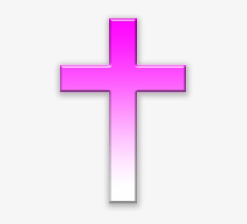 Pink Cross Png.