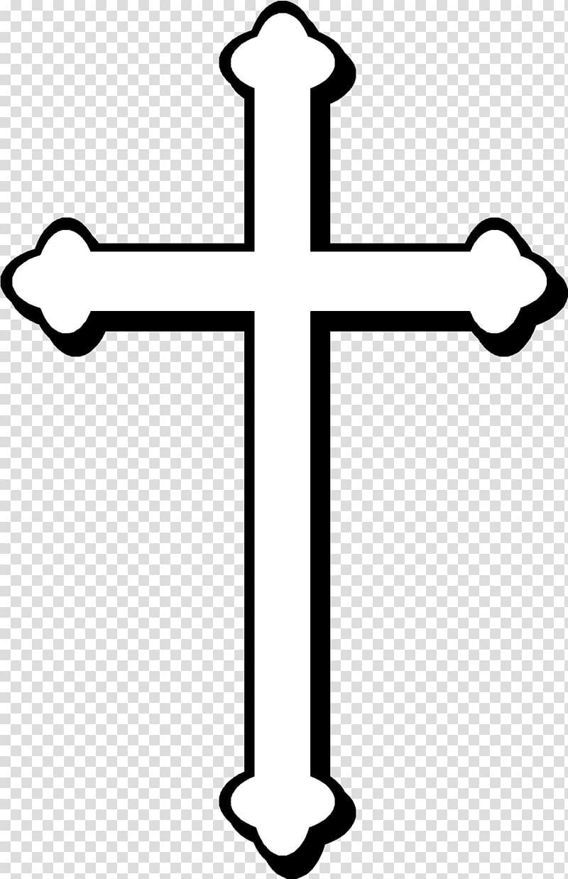 White cross on black background, Christian cross Christianity Celtic.