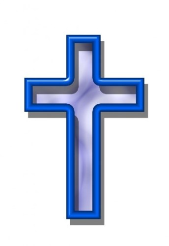 Wooden Cross Religious Clipart.
