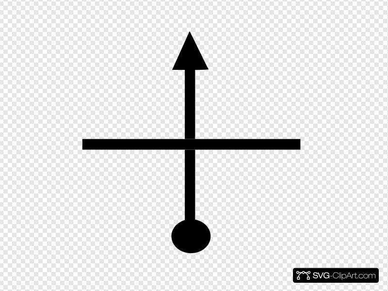 Tsd Straight At Cross Roads Clip art, Icon and SVG.