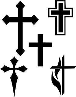 Free Cross Silhouette Cliparts, Download Free Clip Art, Free.