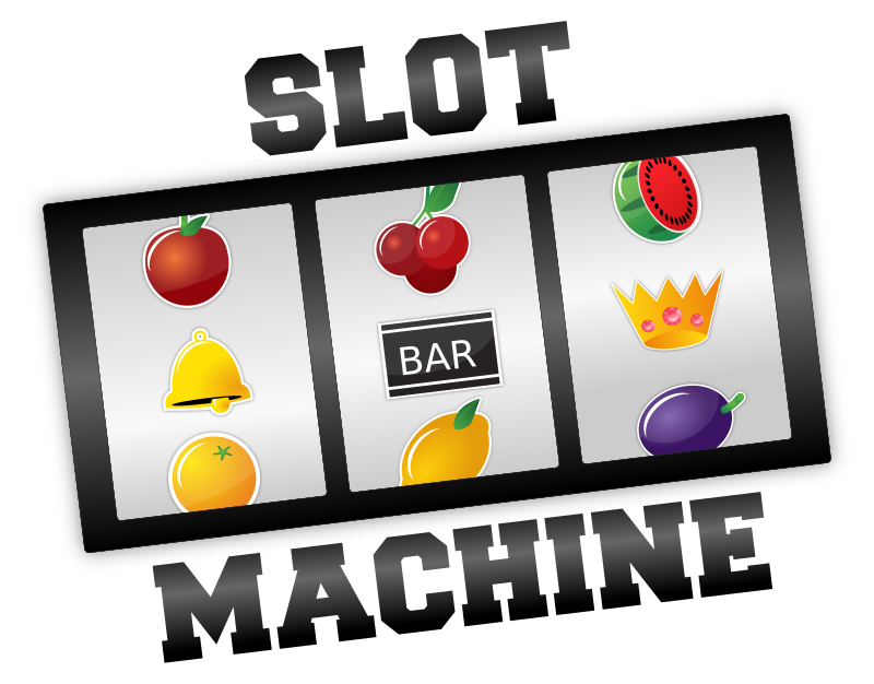 Networked Slot Machines Clipart.