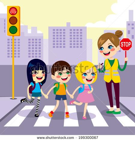 Crosswalk Child Banque d'Image Libre de Droit, Photos, Vecteurs et.