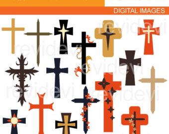 Cross clip art.