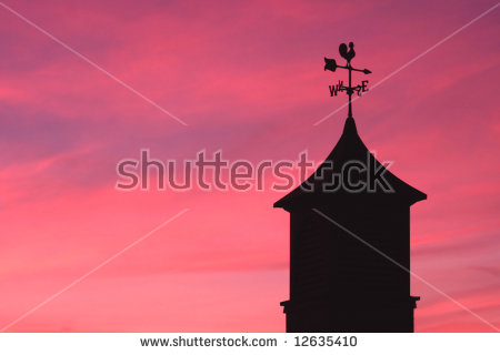 Rooster Weather Vane Stock Photos, Royalty.