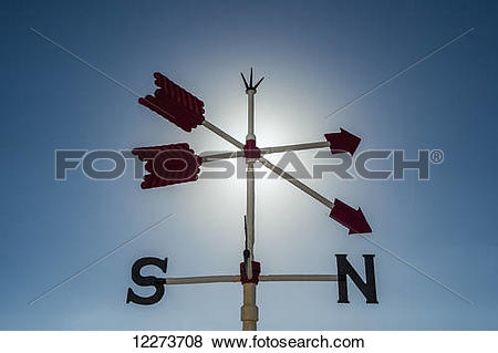 Pictures of Weather vane; La Paloma, Uruguay 12273708.