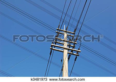 Stock Photo of Crossed wires k0481973.