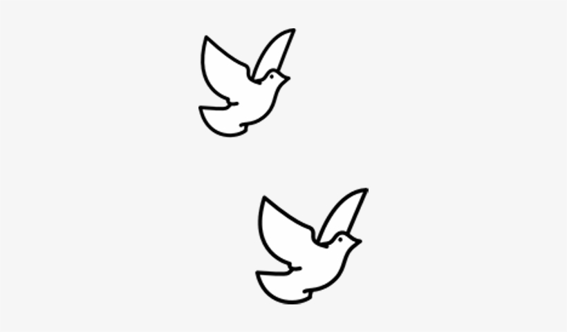 Christening Cross Png Stickpng Doves.