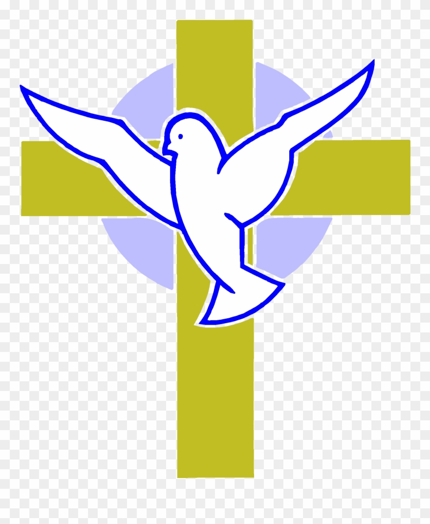 Marvellous Design Cross And Dove Images Tattoo Clipart.