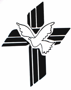 Cross With Dove.