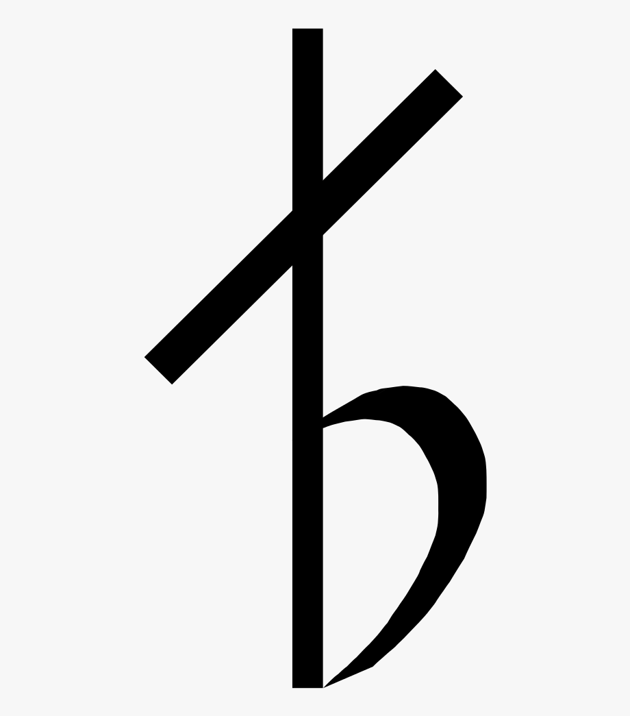 Cross And Music Notes Png.