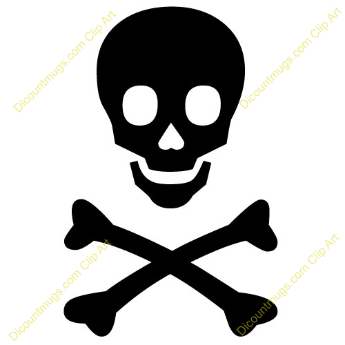 Skull And Crossbones Clipart.