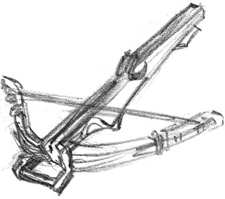 Crossbow Clipart.