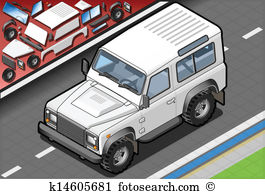 Cross country vehicle Clip Art Vector Graphics. 104 cross country.